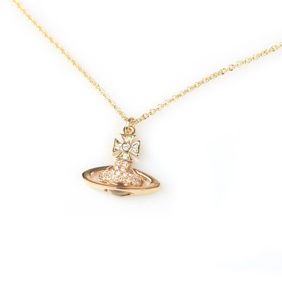Vivienne Westwood Womens Gold Sorada Small Bas Relief Pendant