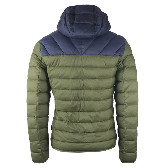 Napapijri Mens Green Aerons Hooded Jacket main image