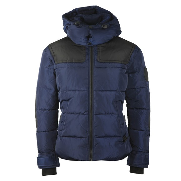 Diesel Mens Blue Russell Jacket