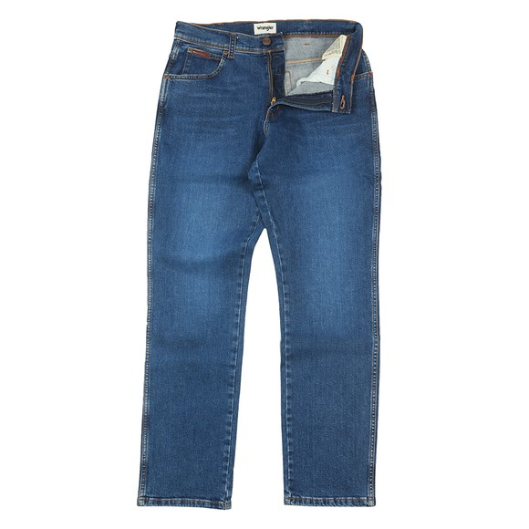 Wrangler Mens Blue Texas Slim Jean main image