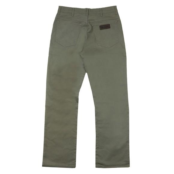 Wrangler Mens Green Texas Stretch Trouser