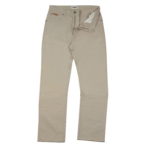 Wrangler Mens Beige Texas Stretch Trouser