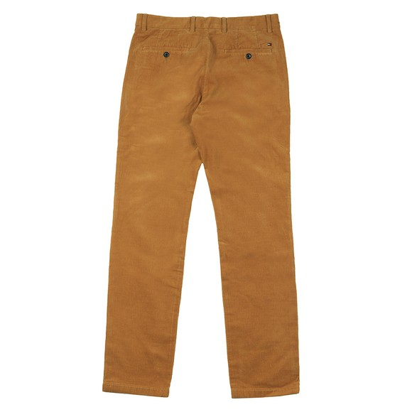 Tommy Hilfiger Mens Yellow Denton Corduroy Trouser