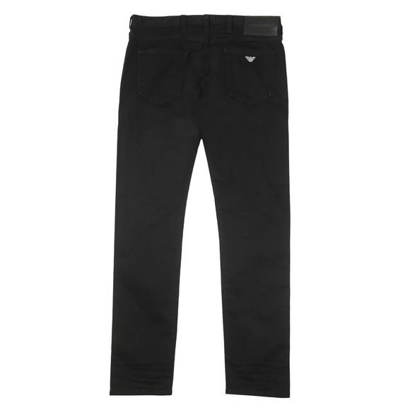 Emporio Armani Mens Black J10 Extra Slim Jean