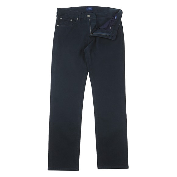 Gant Mens Blue Soft Twill Jean main image