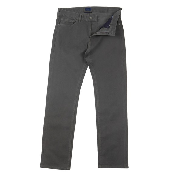 Gant Mens Grey Soft Twill Jean