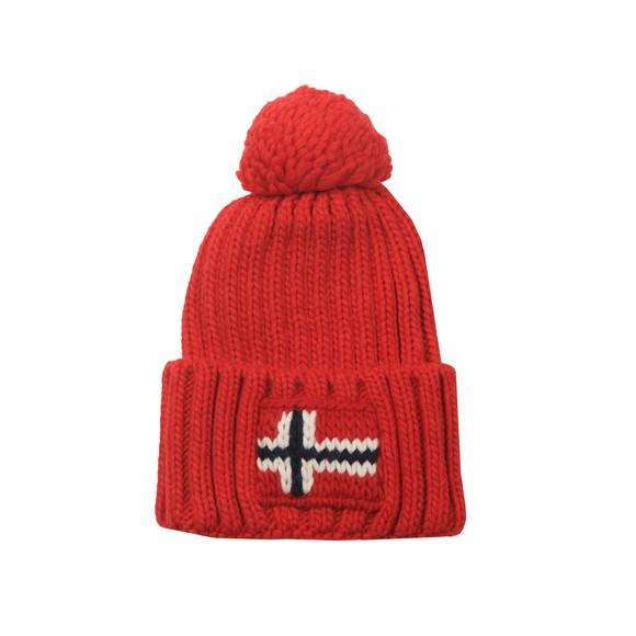 Napapijri Mens Red Semiury 3 Hat main image