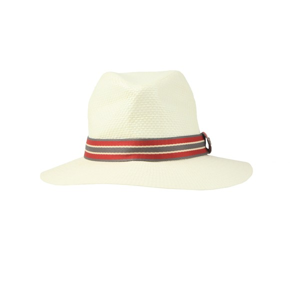 Barbour Lifestyle Mens Off-White Rothbury Hat