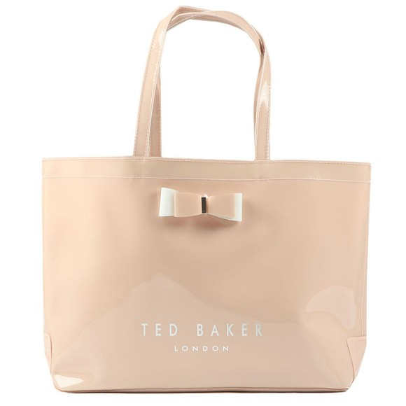 Ted Baker Womens Pink Haticon EW Bow Icon Shopper Bag
