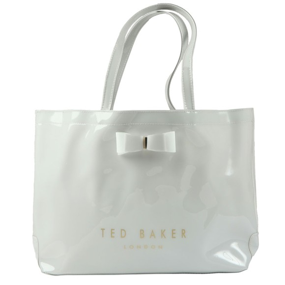Ted Baker Womens Grey Haticon EW Bow Icon Shopper Bag