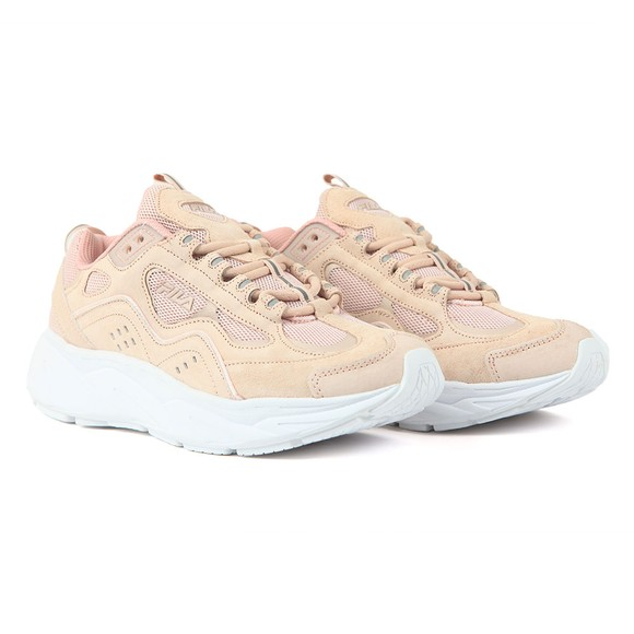 Fila Womens Pink Trigate Chalk Trainer