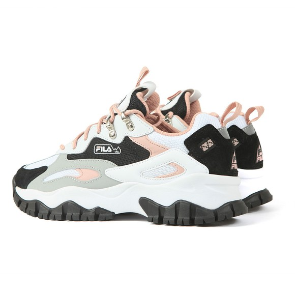 Fila Womens White Ray Tracer TR2 Trainer main image