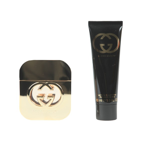 Gucci Womens Beige Guilty Pour Femme Gift Set