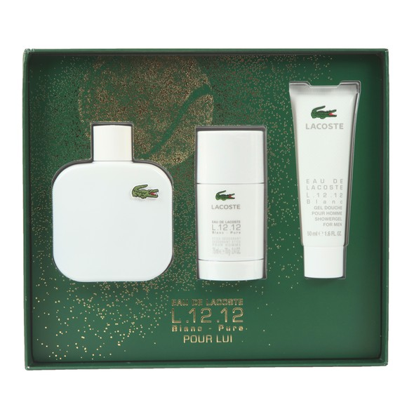 Lacoste Mens Beige L1212 20 Premium Gift Set