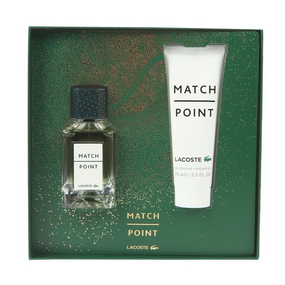 Lacoste Mens Beige Match Point 20 Gift Set