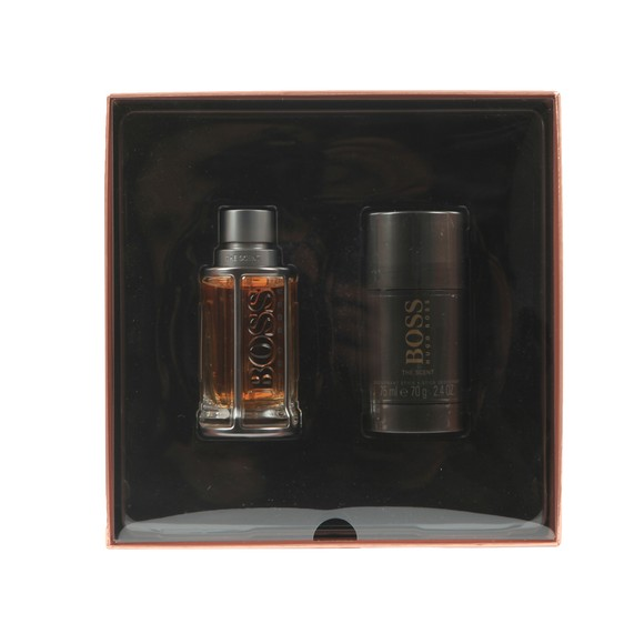 BOSS Mens Beige The Scent 20 Gift Set