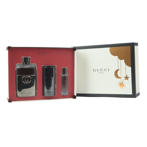 Gucci Mens Beige Guilty 20 90ml Gift Set main image