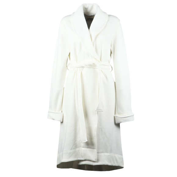 Ugg Womens Off-White Duffield II Dressing Gown