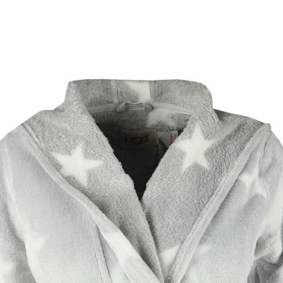 Ugg Womens Grey Miranda Star Dressing Gown