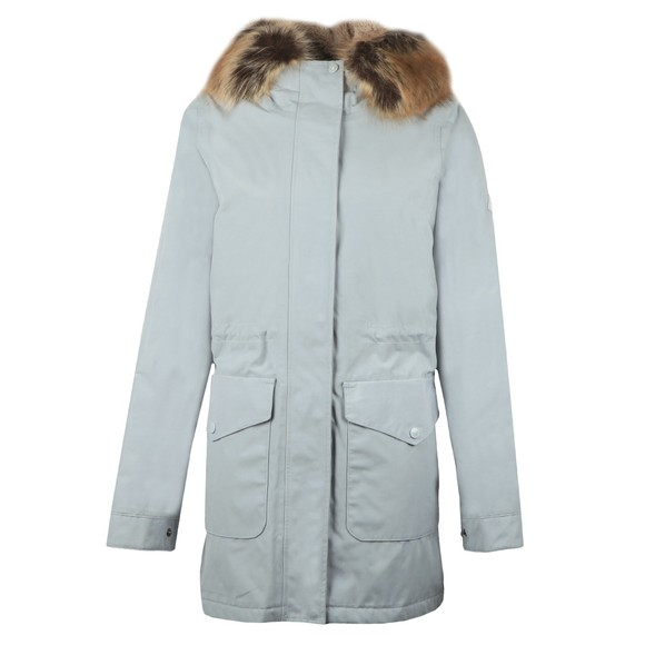 Barbour Lifestyle Womens Grey Swanage Jacket