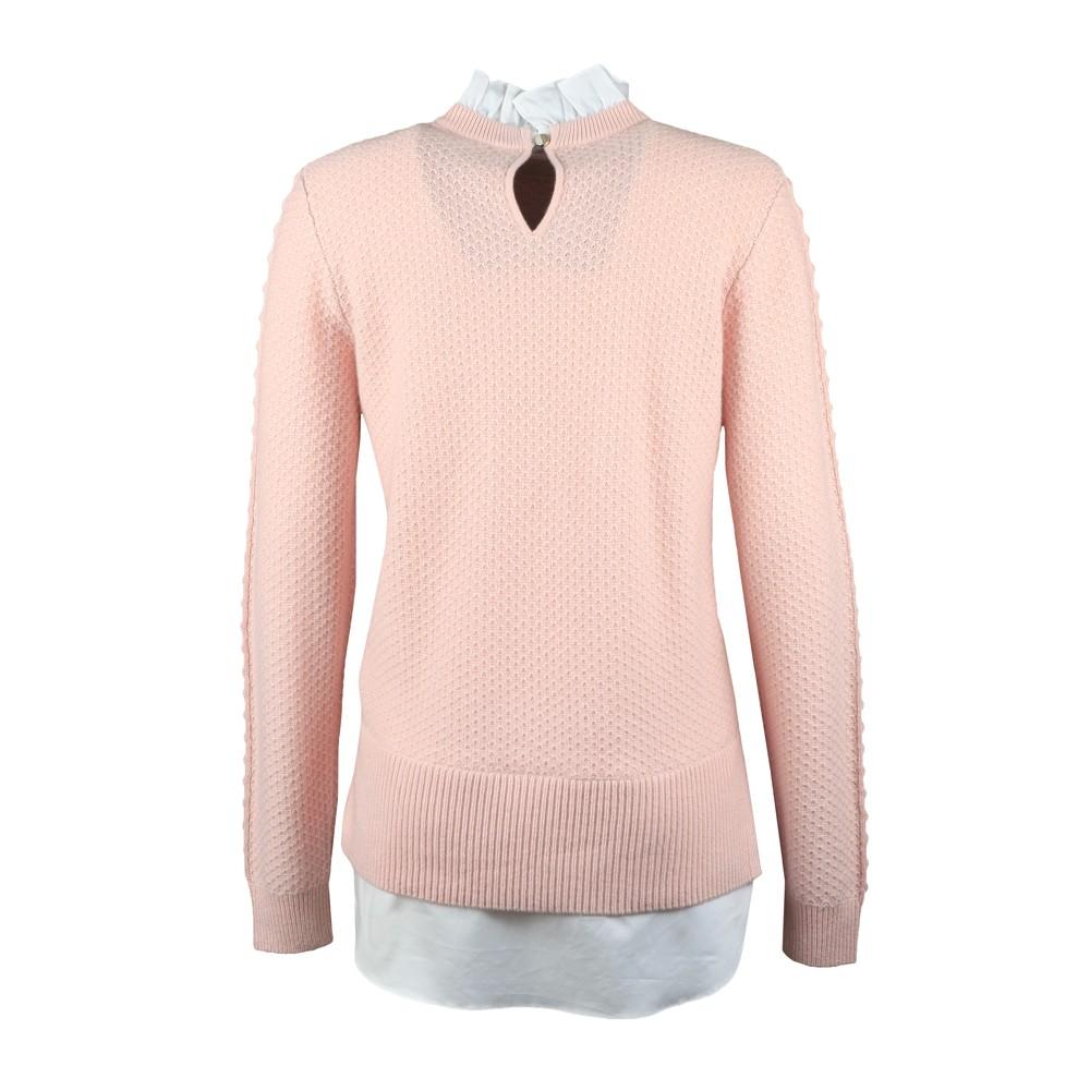 Teaggan Frill Detail Mockable Sweater main image