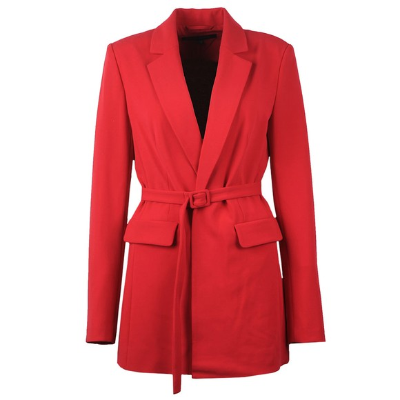 French Connection Womens Pink Alia Whisper Tailored Jacket