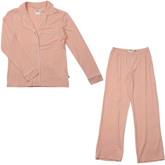 Ugg Womens Pink Lenon Pyjama Set