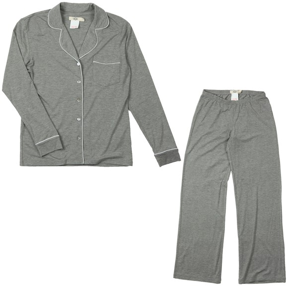 Ugg Womens Grey Lenon Pyjama Set