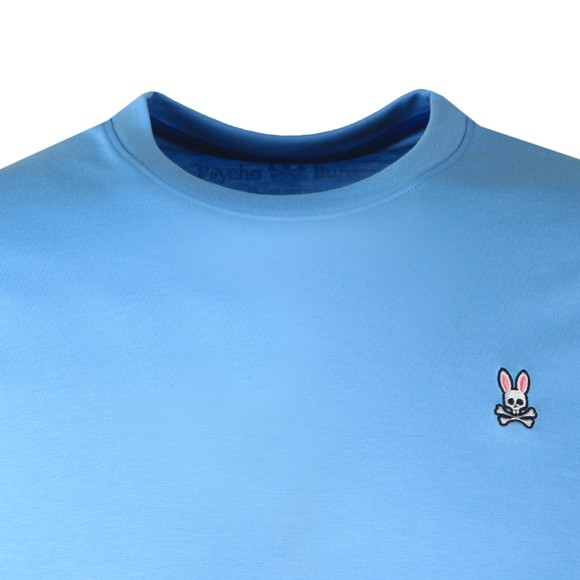 Psycho Bunny Mens Blue Classic Crew Neck T-Shirt