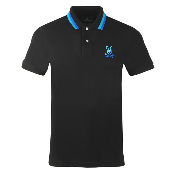Psycho Bunny Mens Black Surrey Polo Shirt