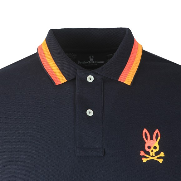 Psycho Bunny Mens Blue Surrey Polo Shirt