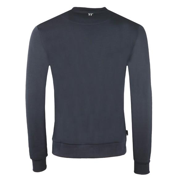 Eleven Degrees Mens Blue Mercury Mesh Sweatshirt main image