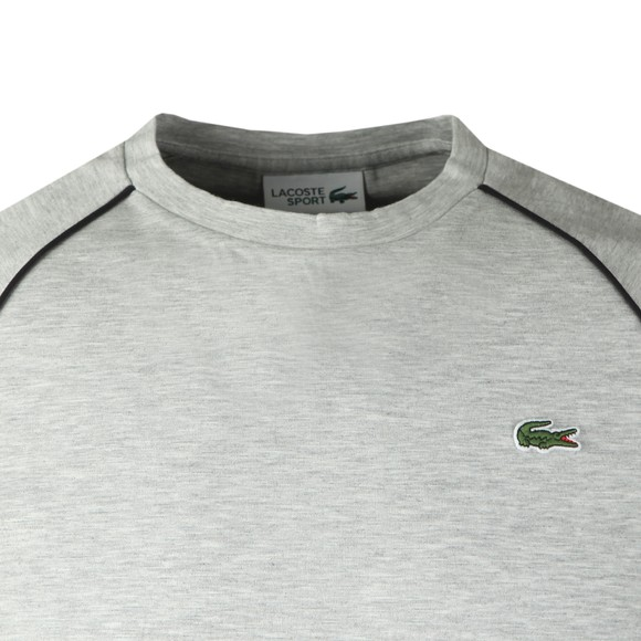 Lacoste Sport Mens Grey TH1558 LS T-Shirt