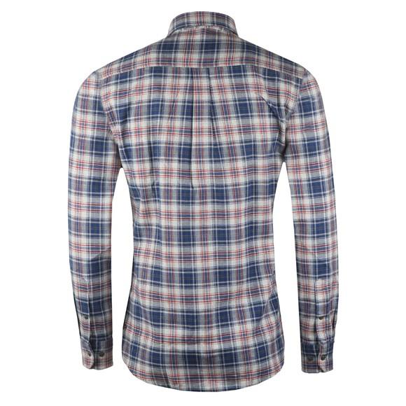 Barbour Int. Steve McQueen Mens Blue Henri Check Shirt main image