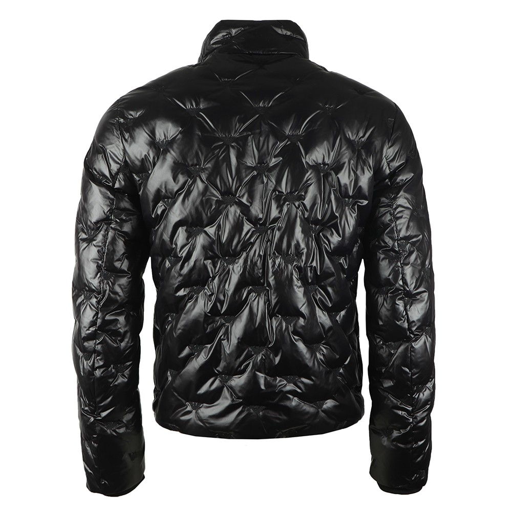 Embroidered Allover Logo Down Jacket main image