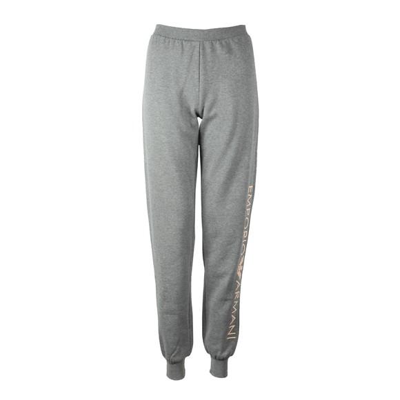 Emporio Armani Womens Grey Cuffed Jogger