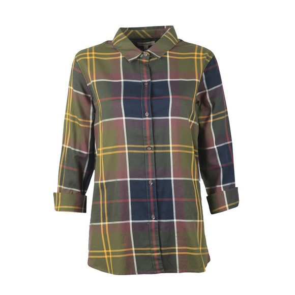 Barbour Lifestyle Womens Green Moorland Shirt