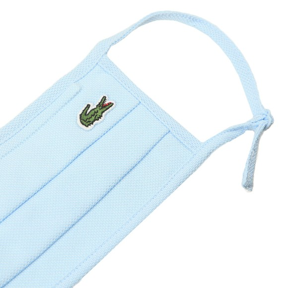 Lacoste Mens Blue Lacoste Face Covering