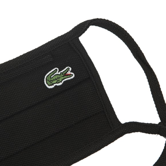 Lacoste Mens Black Lacoste Face Covering