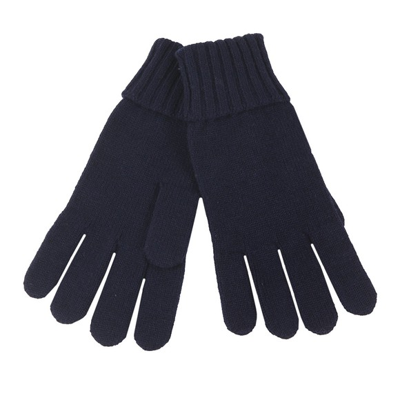 Lacoste Mens Blue RV2783 Wool Gloves main image