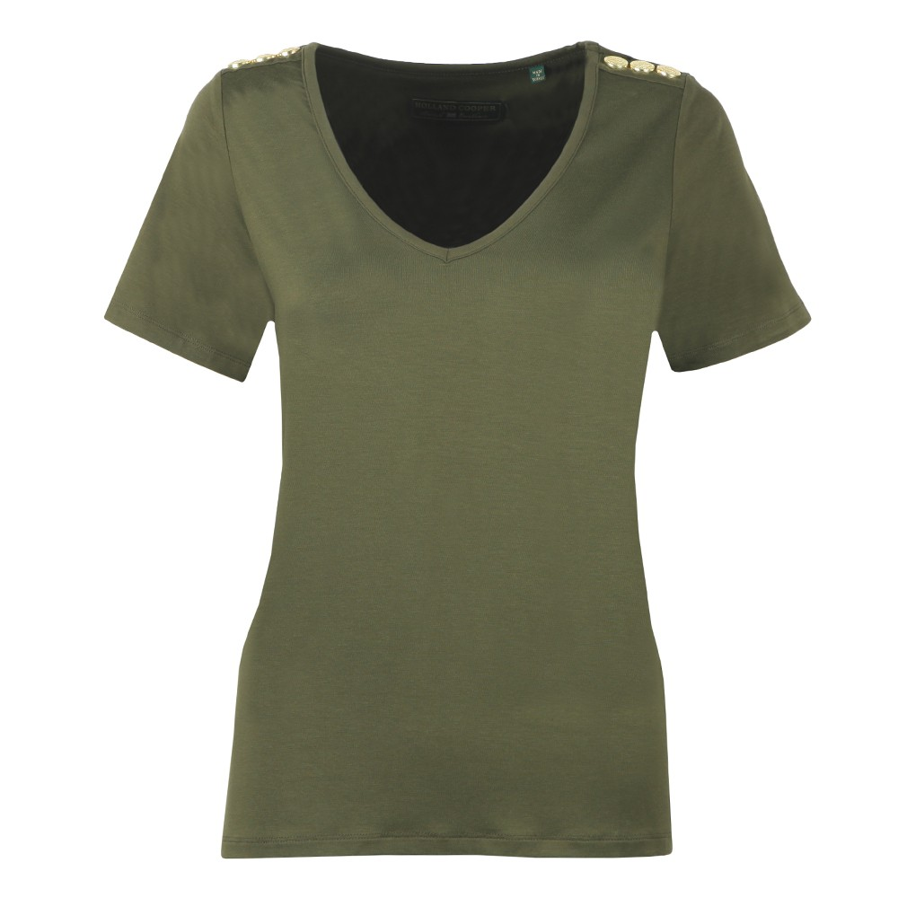 Relax Fit V Neck T Shirt main image