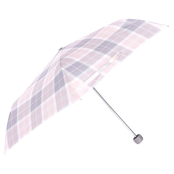 Barbour Lifestyle Womens Pink Portree Umbrella