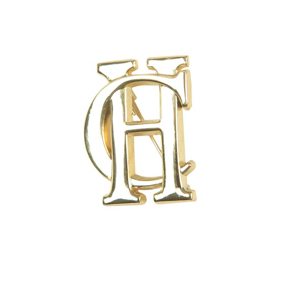Holland Cooper Womens Gold HC Brooch