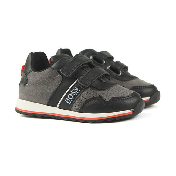 BOSS Boys Black J09139 Trainer