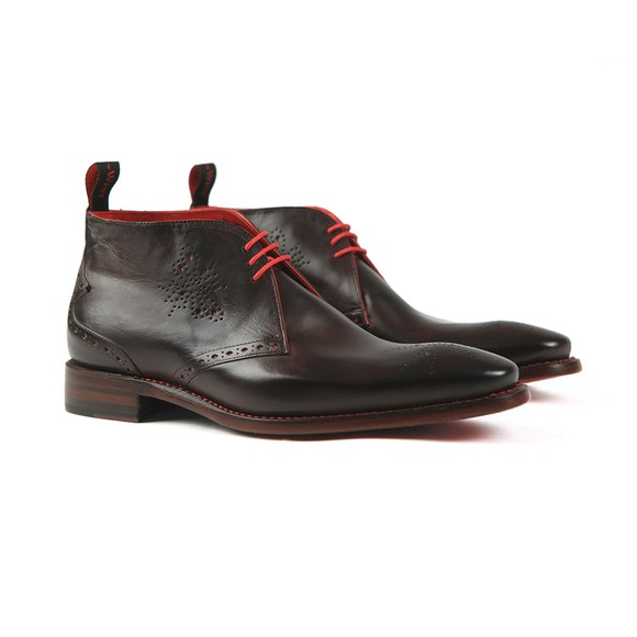 Jeffery West Mens Brown Hunt Chukka Boot