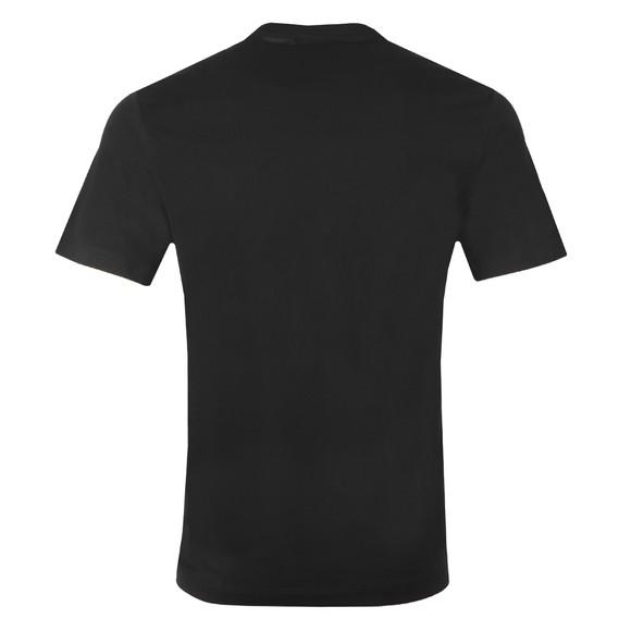 True Religion Mens Black Distressed Tiger Crew Neck T-Shirt main image
