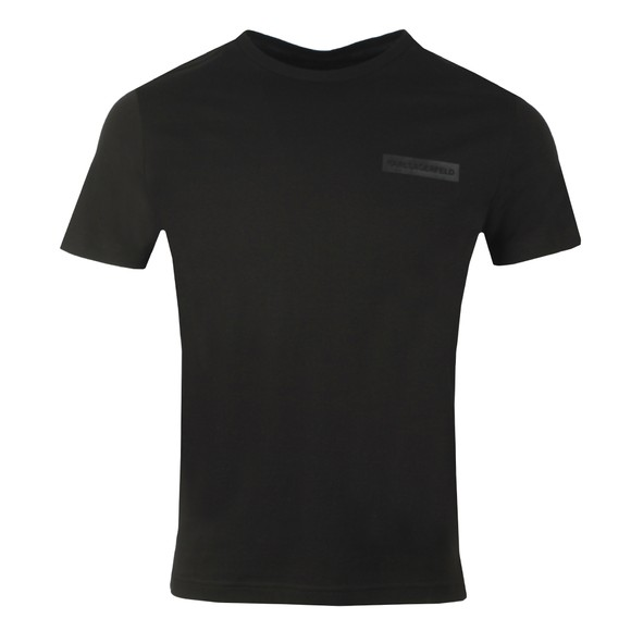 Karl Lagerfeld Mens Black Small Logo T-Shirt