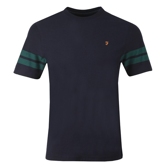 Farah Mens Blue Stareton T-Shirt