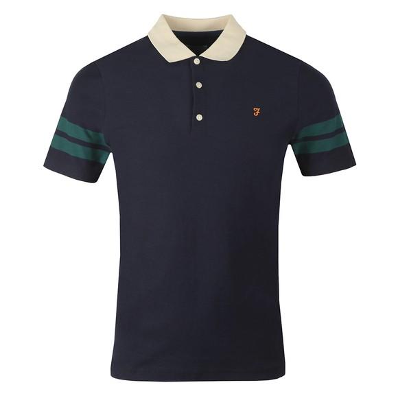 Farah Mens Blue Radford Polo Shirt main image