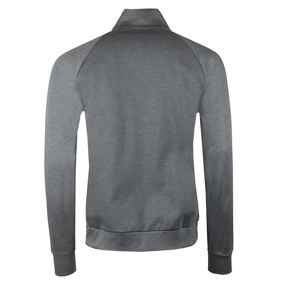 BOSS Bodywear Mens Grey Full Zip Contemp Sweatshirt